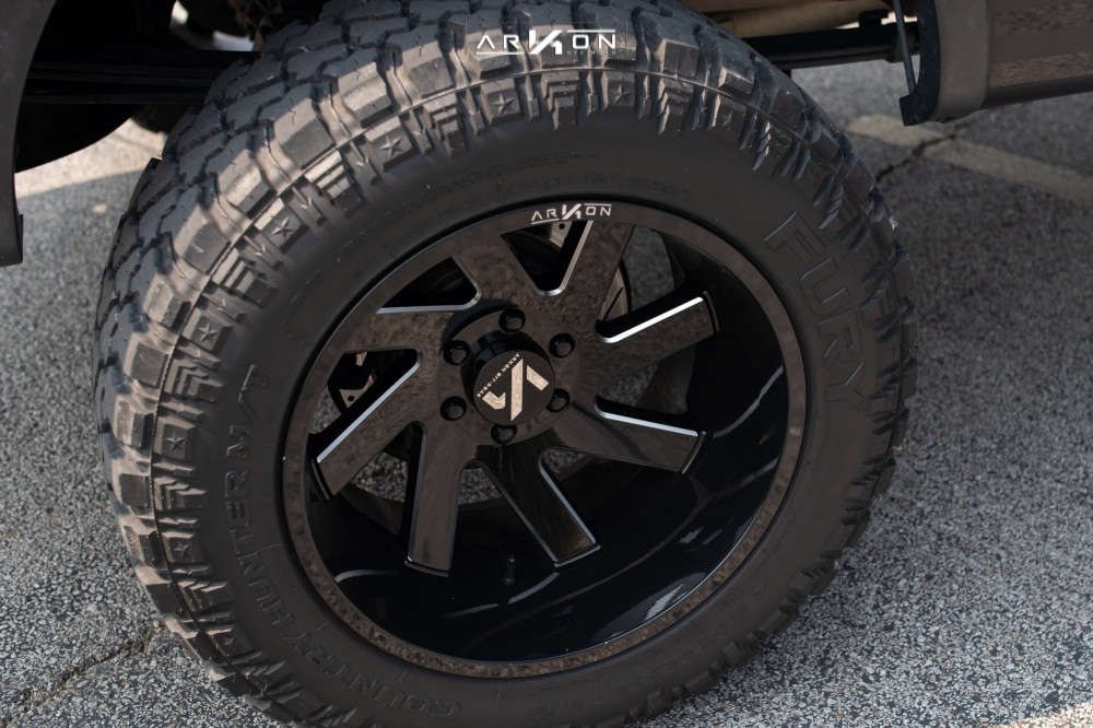 7 2012 F 150 Ford Rough Country Suspension Lift 6in Arkon Off Road Lincoln Machined Black