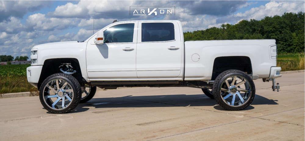 3 2015 Silverado 2500 Hd Chevrolet Bds Suspension Lift 65in Arkon Off Road Lincoln Chrome