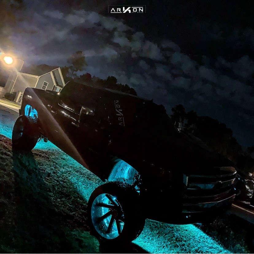 13 2008 Silverado 1500 Hd Chevrolet Bds Suspension Lift 85in Arkon Off Road Lincoln Black