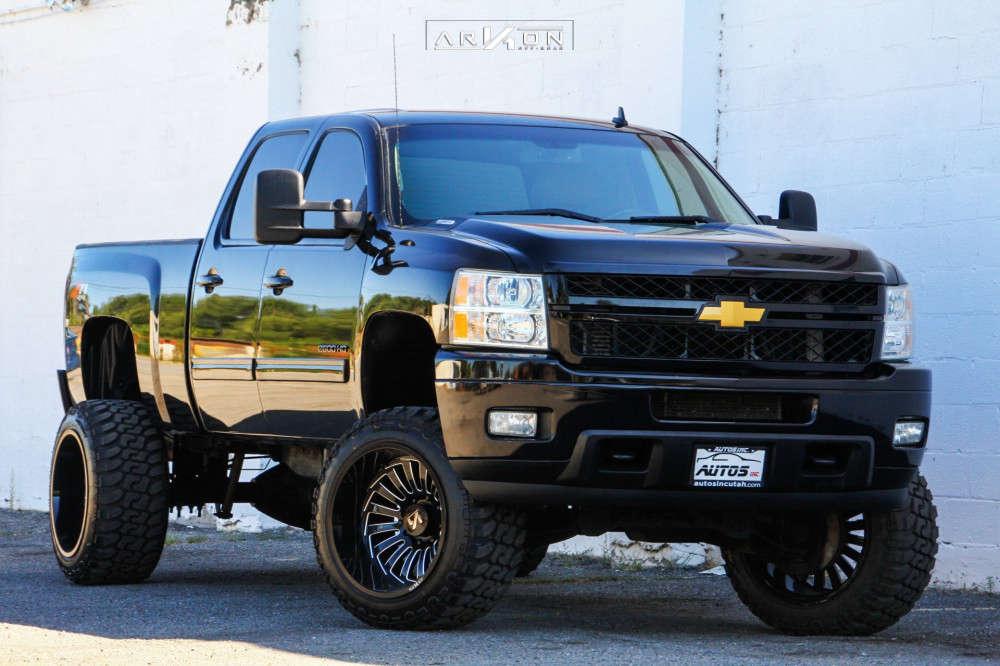 3 2013 Silverado 2500 Hd Chevrolet Pro Comp Suspension Lift 6in Arkon Off Road Alexander Machined Black