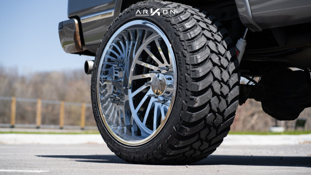 11 2011 F 150 Ford Mcgaughys Suspension Lift 65in Arkon Off Road Caesar Chrome