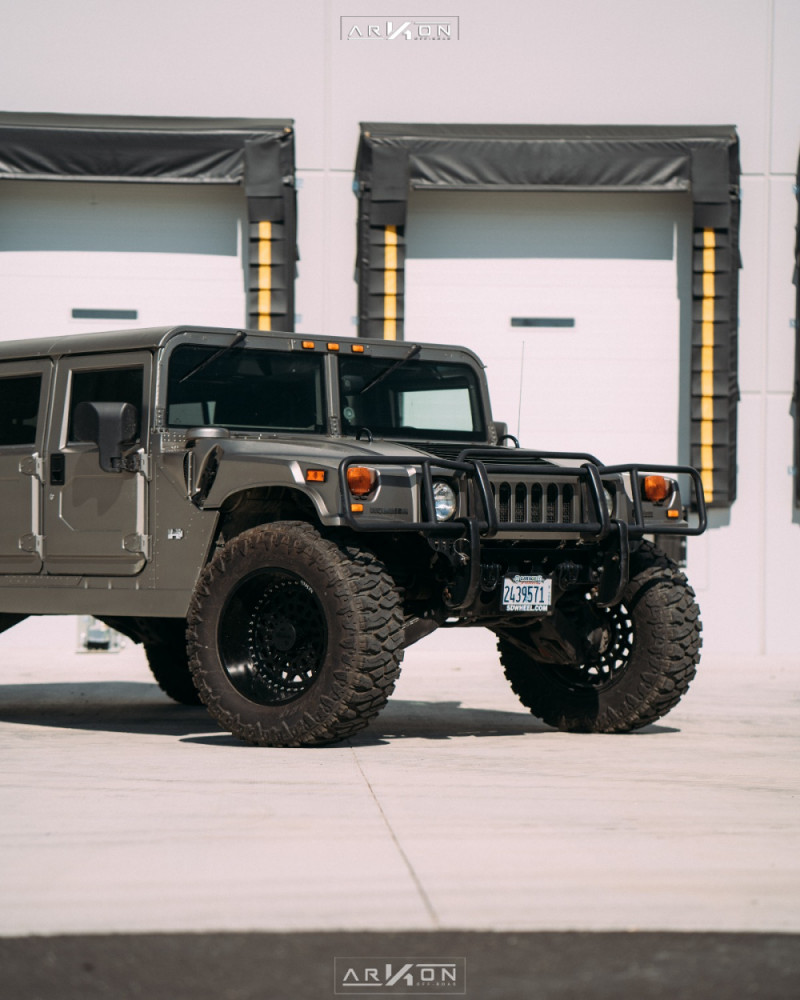 10 2003 H1 Hummer Rubberduck4x4 Suspension Lift 3in Arkon Off Road Crown Series Triumph Black