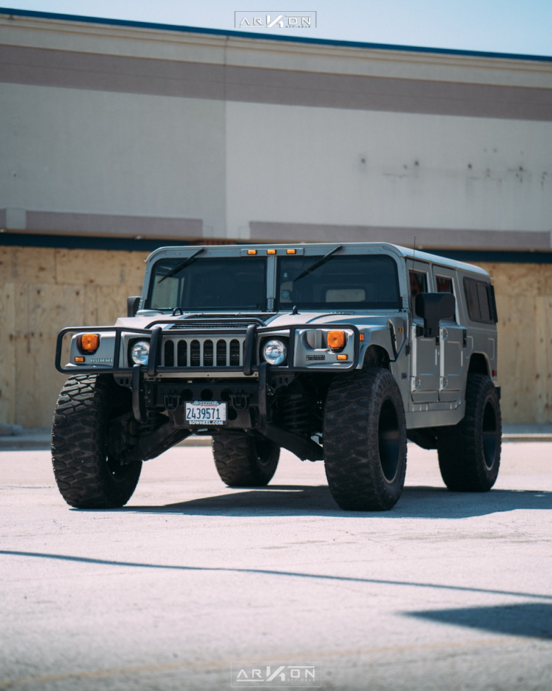 6 2003 H1 Hummer Rubberduck4x4 Suspension Lift 3in Arkon Off Road Crown Series Triumph Black