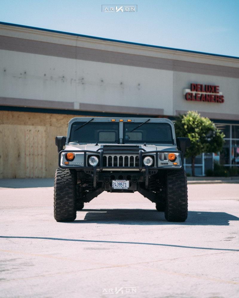 7 2003 H1 Hummer Rubberduck4x4 Suspension Lift 3in Arkon Off Road Crown Series Triumph Black
