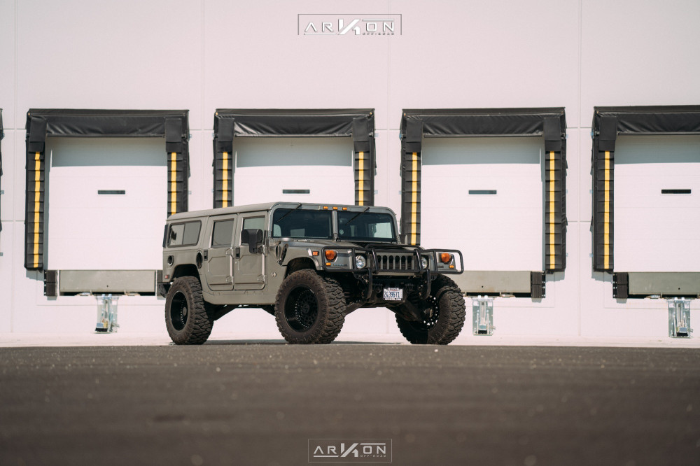 9 2003 H1 Hummer Rubberduck4x4 Suspension Lift 3in Arkon Off Road Crown Series Triumph Black