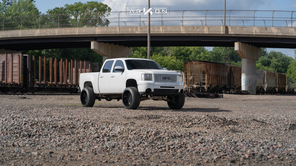 15 2011 Sierra 1500 Gmc Rough Country Suspension Lift 75in Arkon Off Road Crown Series Triumph Machined Accents
