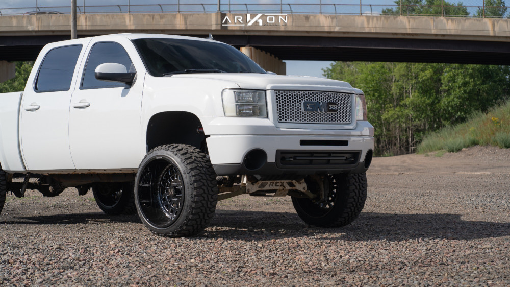 9 2011 Sierra 1500 Gmc Rough Country Suspension Lift 75in Arkon Off Road Crown Series Triumph Machined Accents