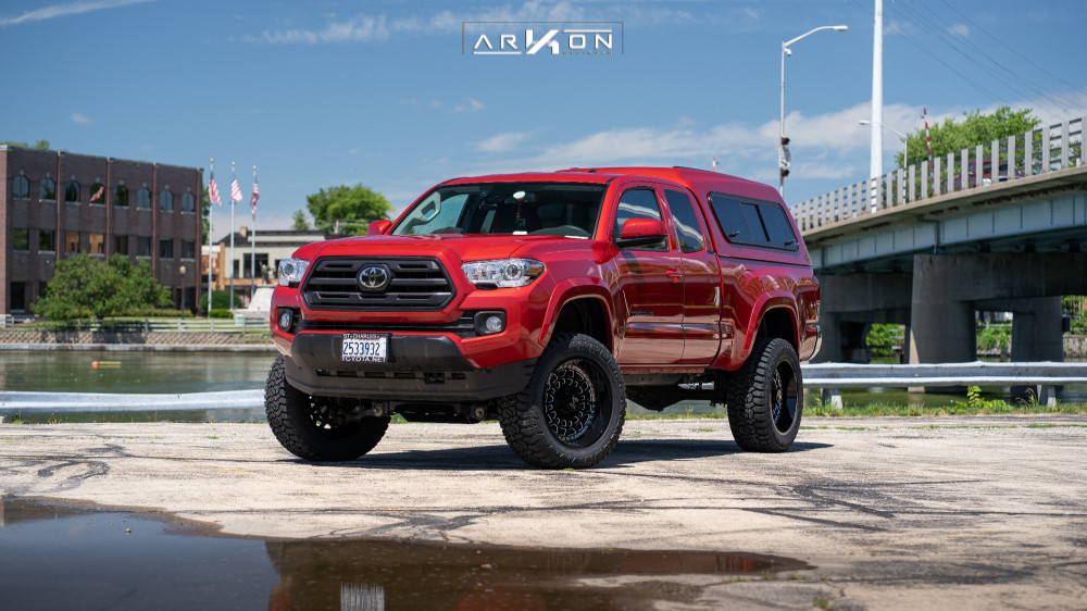 1 2019 Tacoma Toyota Bds Suspension Lift 4in Arkon Off Road Crown Series Triumph Machined Accents