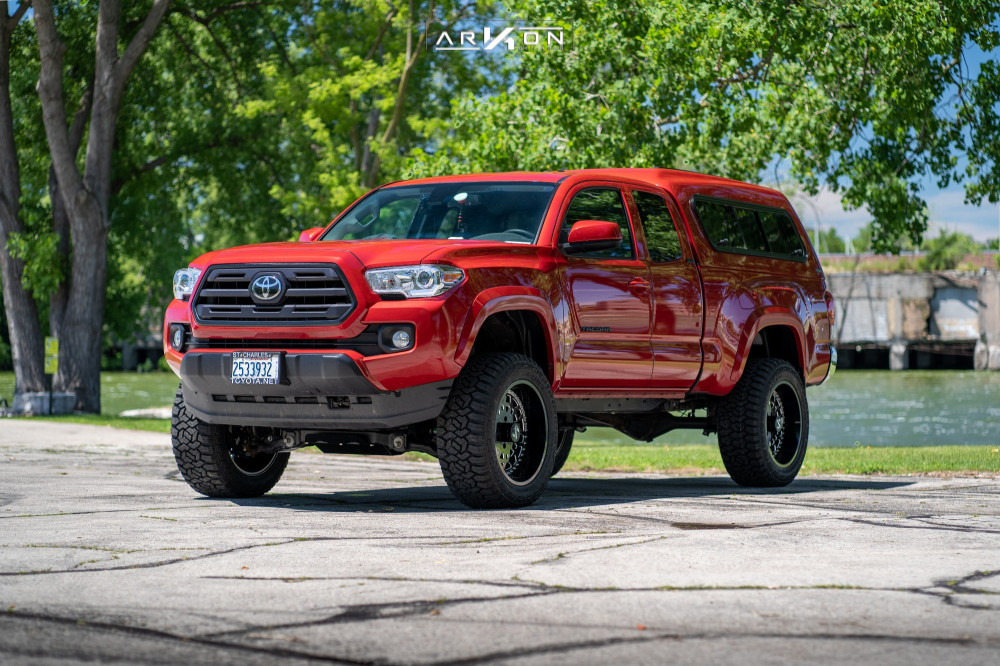 12 2019 Tacoma Toyota Bds Suspension Lift 4in Arkon Off Road Crown Series Triumph Machined Accents