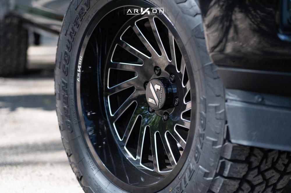 6 2018 F 150 Ford Top Gun Customz Leveling Kit Arkon Off Road Caesar Machined Black