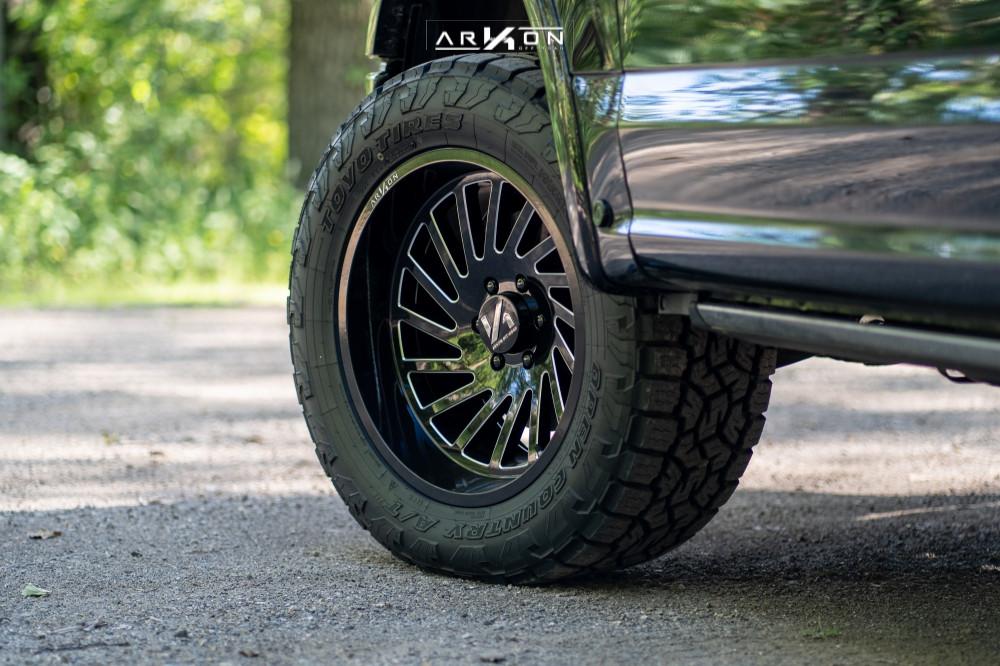 7 2018 F 150 Ford Top Gun Customz Leveling Kit Arkon Off Road Caesar Machined Black