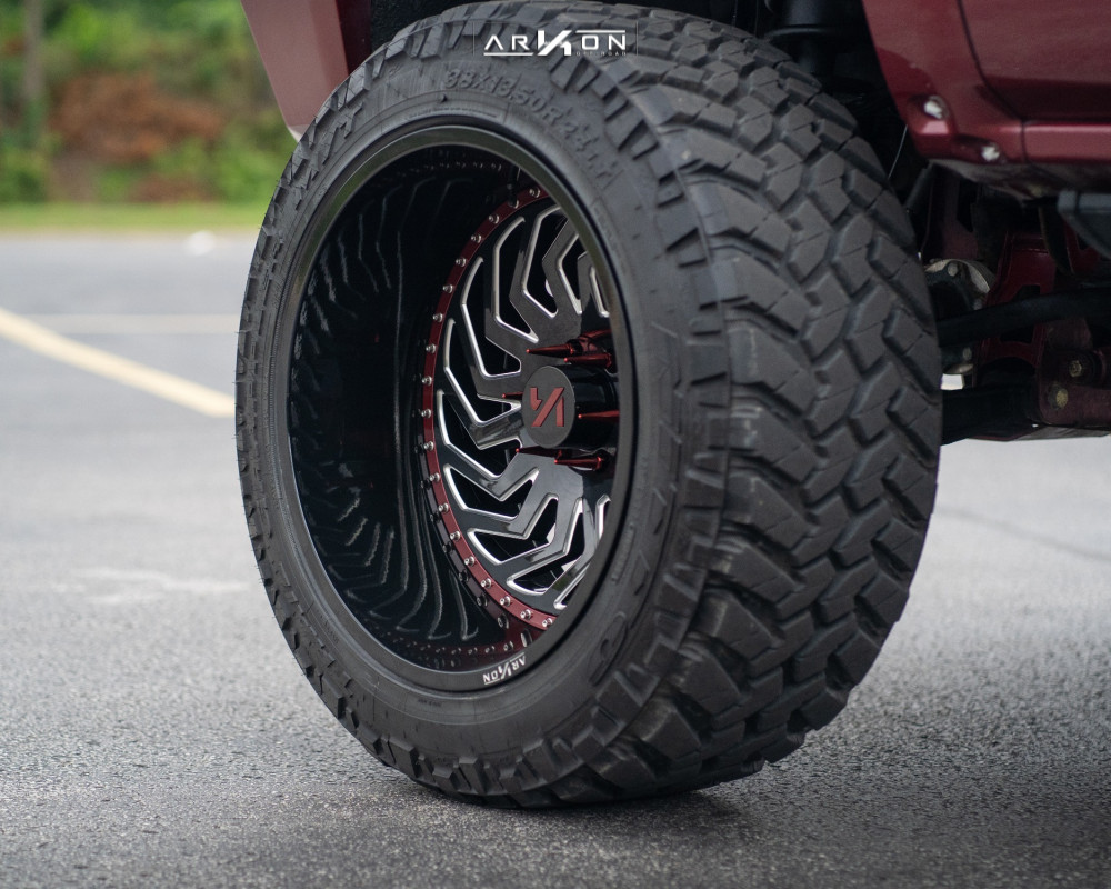 2 2015 Silverado 1500 Chevrolet Mcgaughys Suspension Lift 7in Arkon Off Road Crown Series Victory Machined Accents