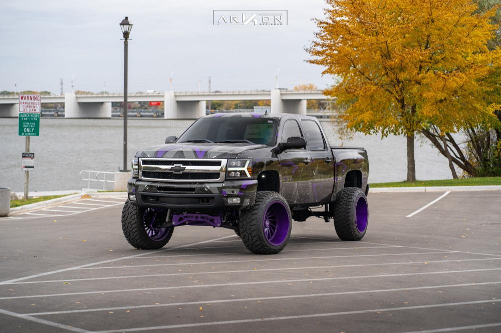 1 2011 Silverado 1500 Chevrolet Mcgaughys Suspension Lift 9in Arkon Off Road Caesar Custom