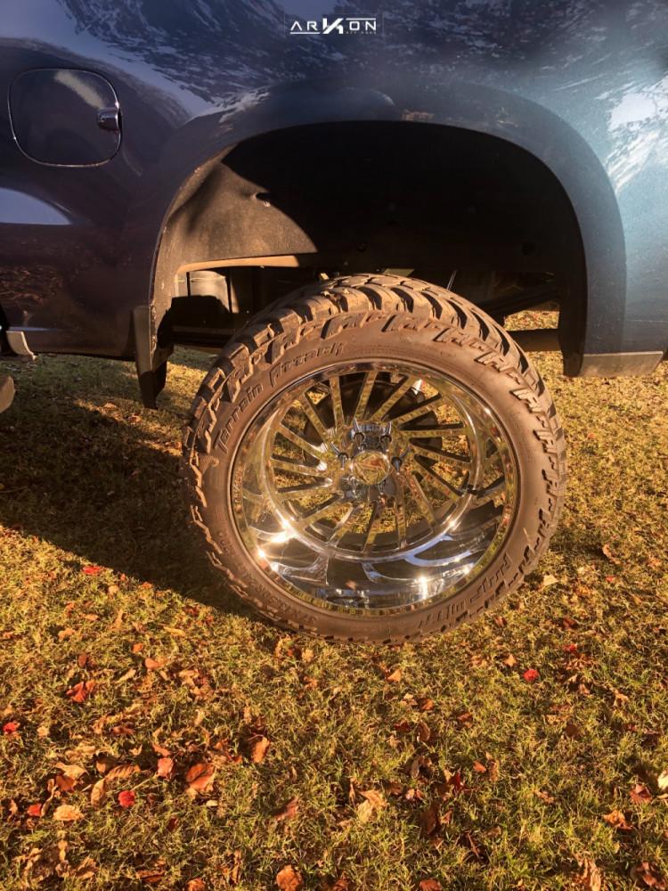 10 2019 Silverado 1500 Chevrolet Mcgaughys Suspension Lift 10in Arkon Off Road Caesar Chrome