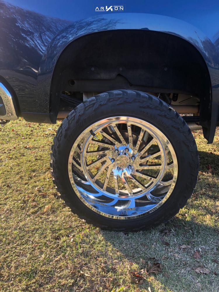 11 2019 Silverado 1500 Chevrolet Mcgaughys Suspension Lift 10in Arkon Off Road Caesar Chrome