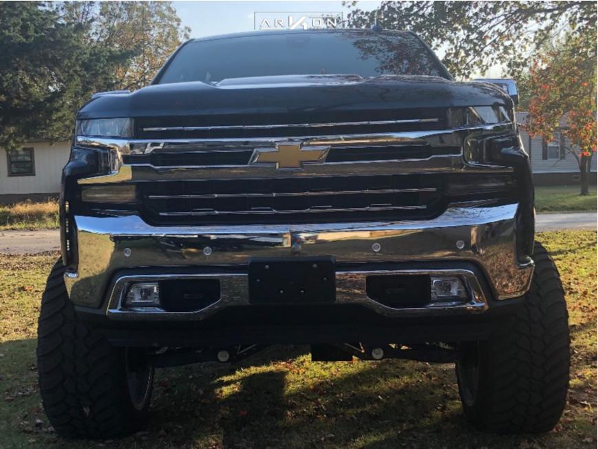 2 2019 Silverado 1500 Chevrolet Mcgaughys Suspension Lift 10in Arkon Off Road Caesar Chrome