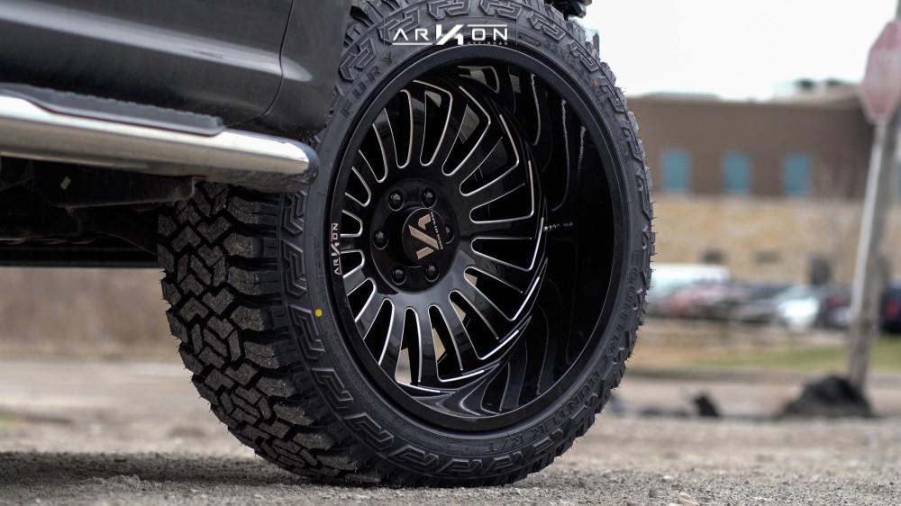 7 2015 F 150 Ford Halo Lift Suspension Lift 3in Arkon Off Road Alexander Black