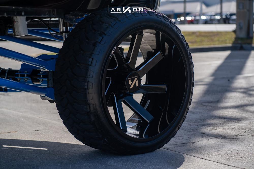 4 2012 F 250 Super Duty Ford Custom Suspension Lift 12in Arkon Off Road Lincoln Black