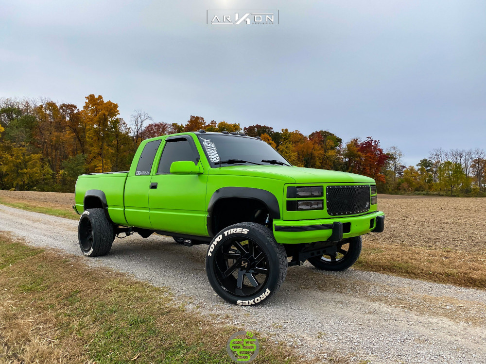 1 1997 K2500 Chevrolet Rcd Suspension Lift 4in Arkon Off Road Lincoln Machined Accents
