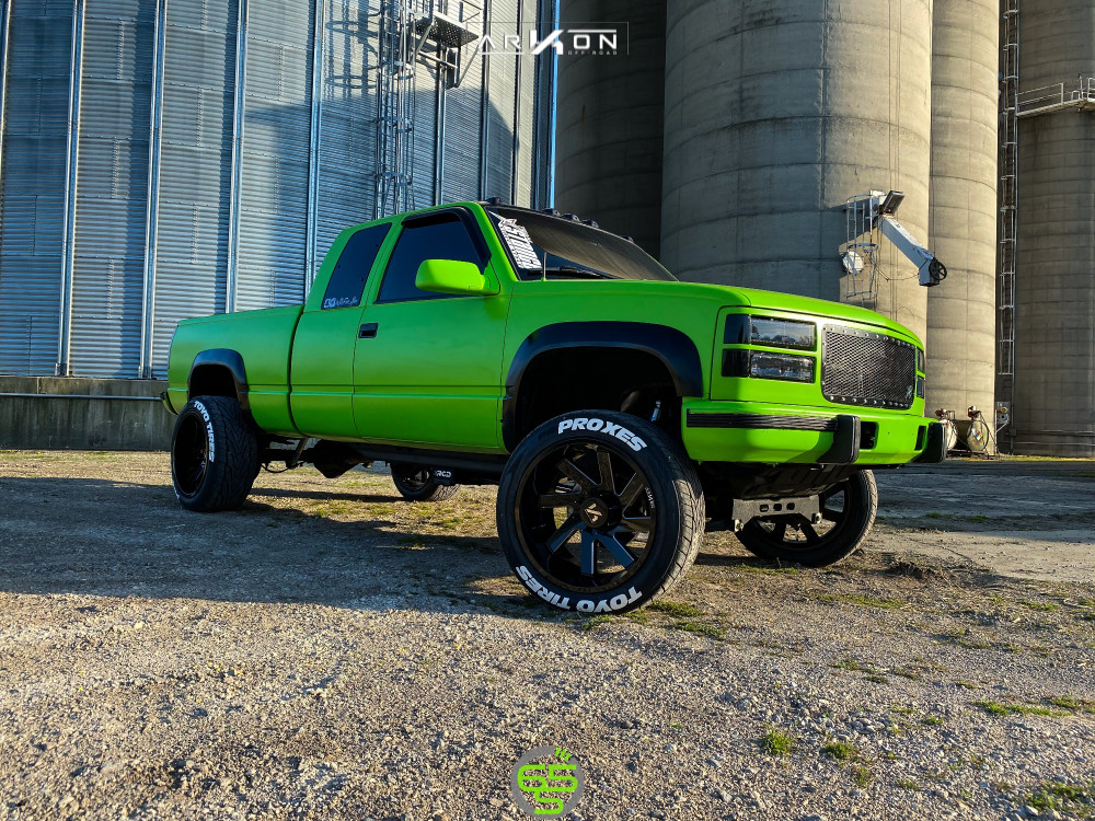 12 1997 K2500 Chevrolet Rcd Suspension Lift 4in Arkon Off Road Lincoln Machined Accents