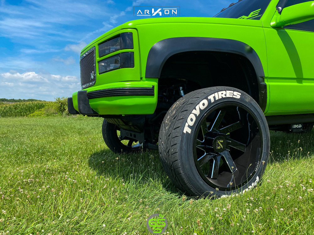 5 1997 K2500 Chevrolet Rcd Suspension Lift 4in Arkon Off Road Lincoln Machined Accents
