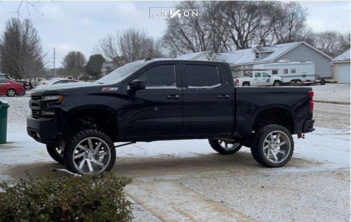 5 2021 Silverado 1500 Chevrolet Full Throttle Suspension Lift 9in Arkon Off Road Lincoln Chrome