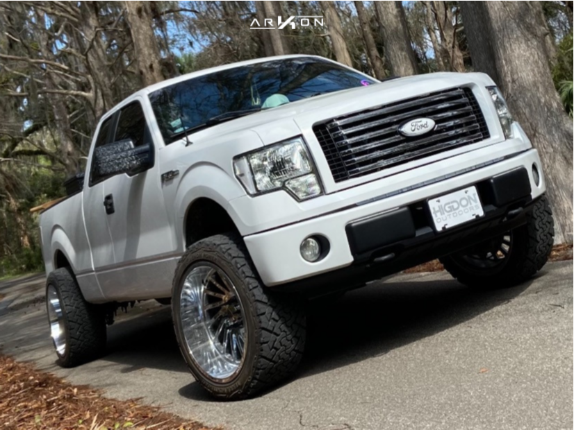 1 2014 F 150 Ford Readylift Leveling Kit Arkon Off Road Caesar Chrome