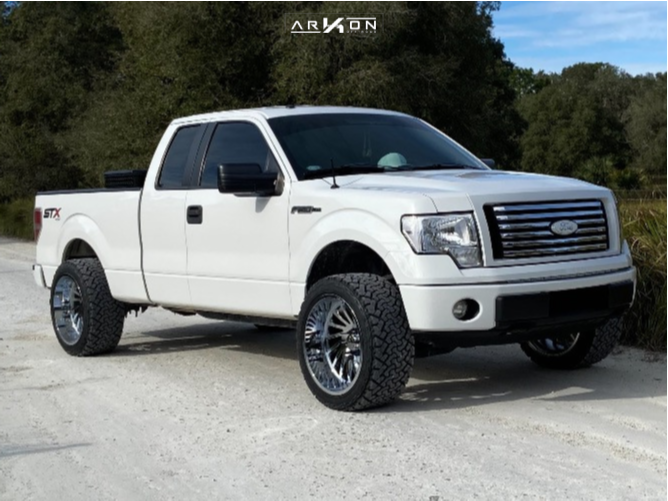 10 2014 F 150 Ford Readylift Leveling Kit Arkon Off Road Caesar Chrome