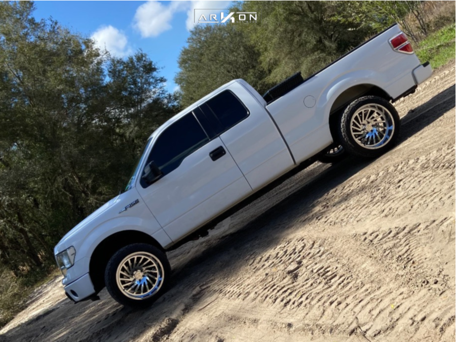8 2014 F 150 Ford Readylift Leveling Kit Arkon Off Road Caesar Chrome