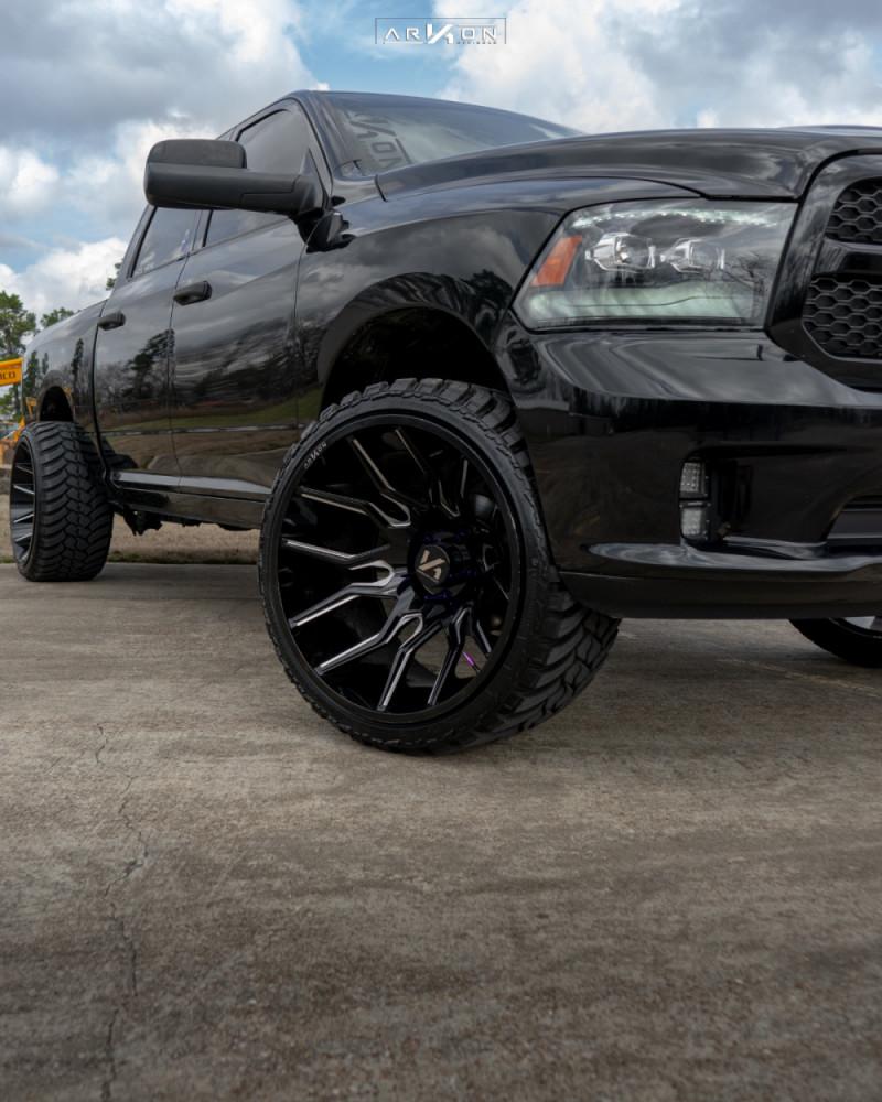 4 2014 Ram 1500 Dodge Pro Comp Leveling Kit Arkon Off Road Roosevelt Black