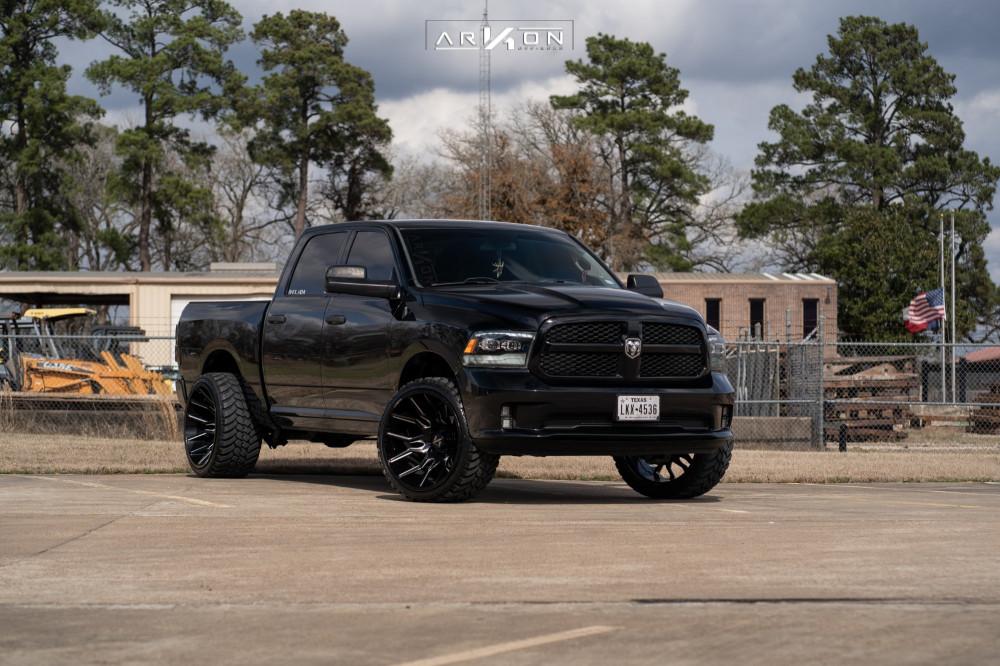 8 2014 Ram 1500 Dodge Pro Comp Leveling Kit Arkon Off Road Roosevelt Black