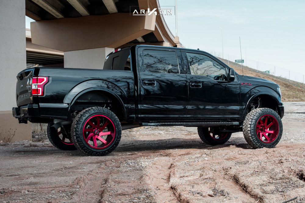 4 2018 F 150 Ford Rough Country Suspension Lift 6in Arkon Off Road Lincoln Custom