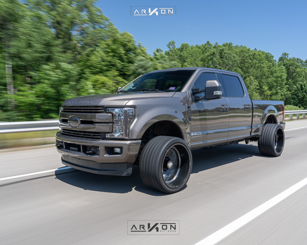 4 2018 F 250 Super Duty Ford Stock Level 2in Drop Rear Arkon Off Road Alexander Machined Accents