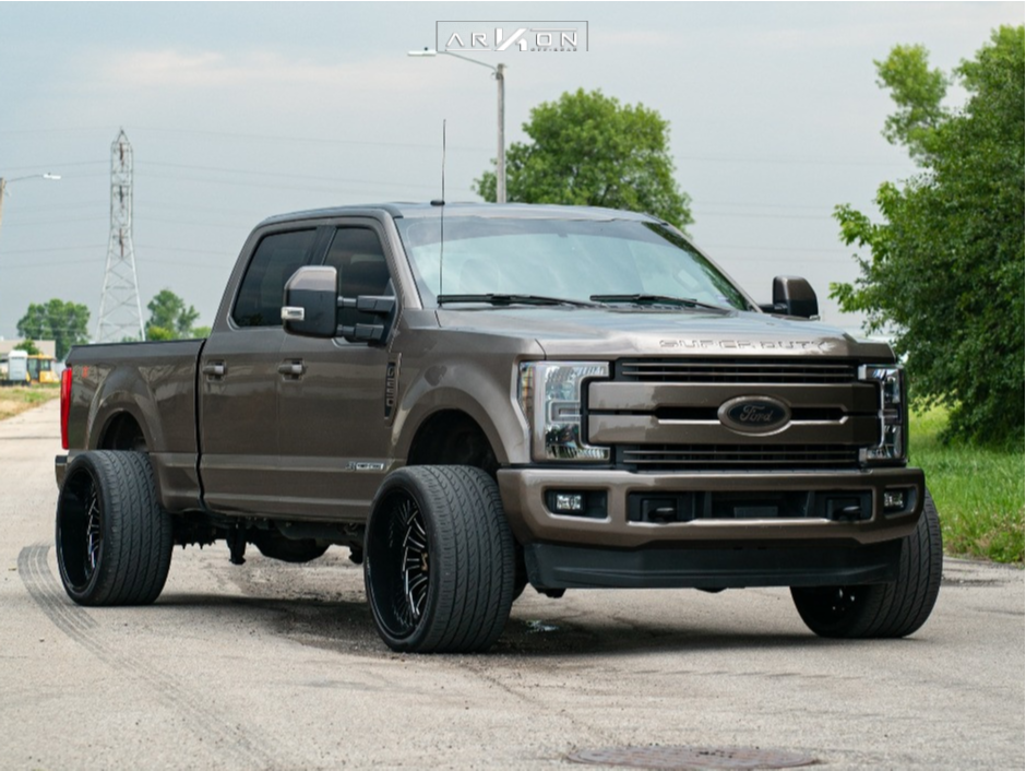 7 2018 F 250 Super Duty Ford Stock Stock Arkon Off Road Alexander Machined Accents