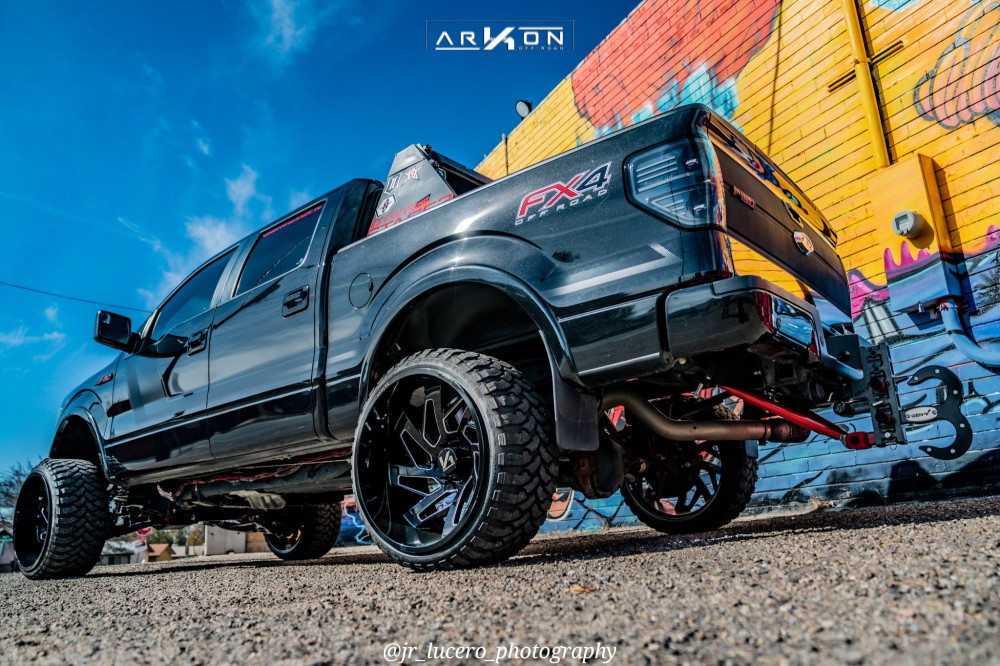 10 2014 F 150 Ford Bds Suspension Lift 7in Arkon Off Road Cleopatra Black