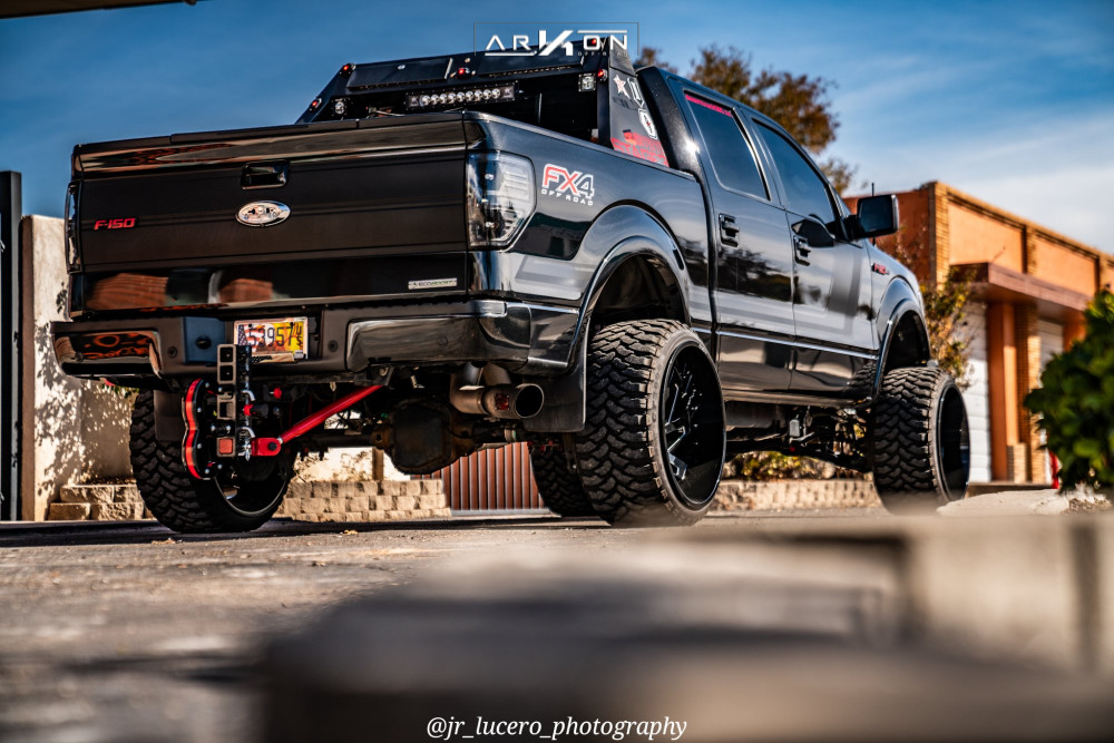 11 2014 F 150 Ford Bds Suspension Lift 7in Arkon Off Road Cleopatra Black