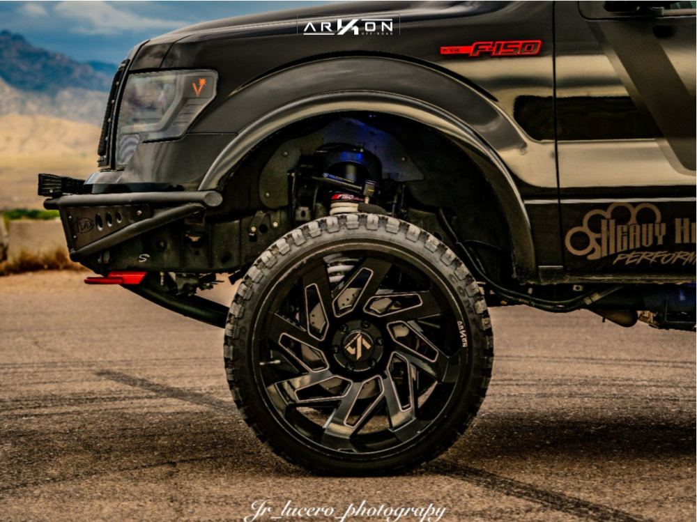 8 2014 F 150 Ford Bds Suspension Lift 7in Arkon Off Road Cleopatra Black