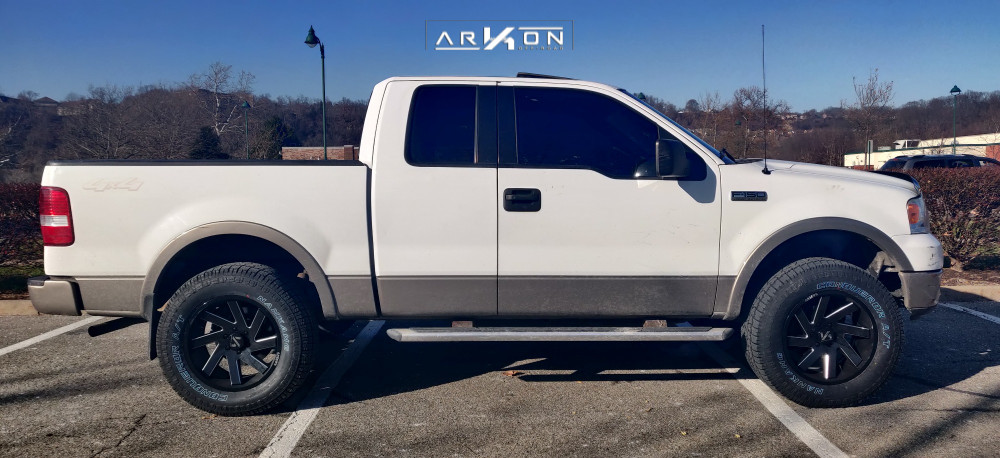 16 2005 F 150 Ford Mammoth Leveling Kit Arkon Off Road Lincoln Black