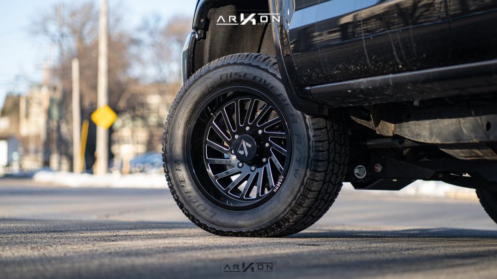 6 2015 Sierra 2500 Hd Gmc Bds Suspension Lift 45in Arkon Off Road Caesar Machined Black