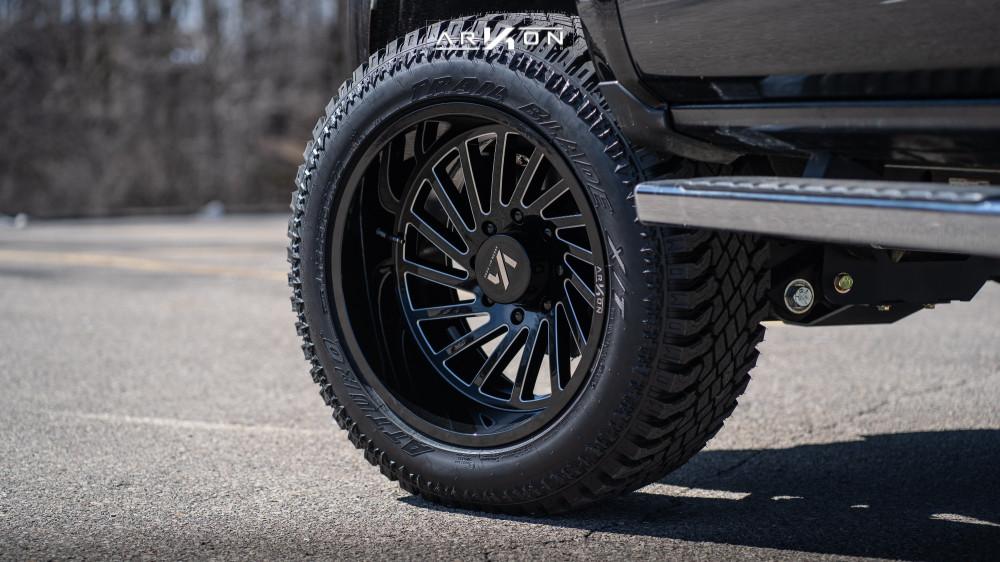 8 2017 Silverado 2500 Hd Chevrolet Bds Suspension Lift 45in Arkon Off Road Caesar Machined Accents